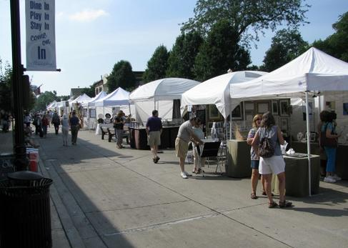 downers grove art festival