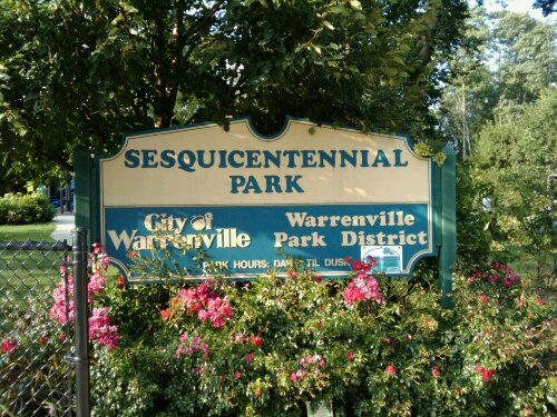 Sesquicentennial Park in Warrenville