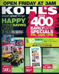 kohls black friday ad sale