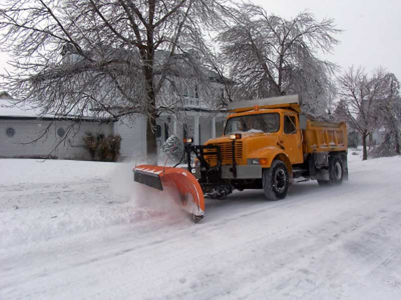 snow plow blizzard dupage chicago winter storm