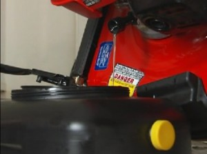 spring lawn mower change oil