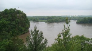 Starved Rock from Lover's Leap