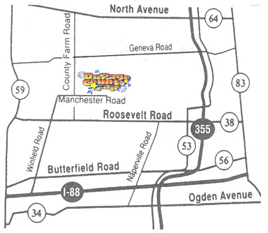 DuPage County Fair 2011 Map