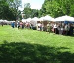 Hinsdale Art Festival in Hinsdale IL