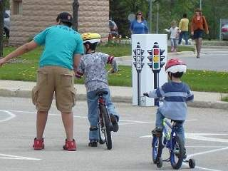 Warrenville's Bike Rodeo