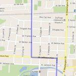 Naperville Last Fling Parage Route