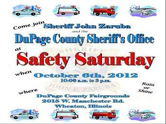 Safety Saturday 2012 at DuPage County Fairgrounds