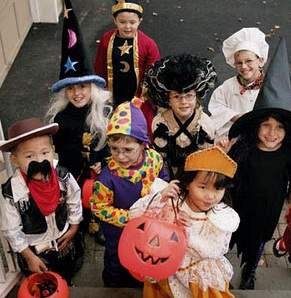 DuPage County area trick-or-treating hours