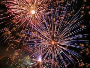 Fireworks displays list